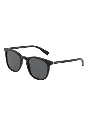 Dolce&Gabbana Dolce & Gabbana 0Dg4372 501/87 51 Ekartman Erkek Güneş Gözlüğü Siyah